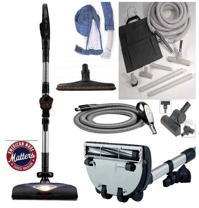 on any central vacuum system it is the individual attachments that will wear out or need repair the motor unit usually goes on and on but your hose or